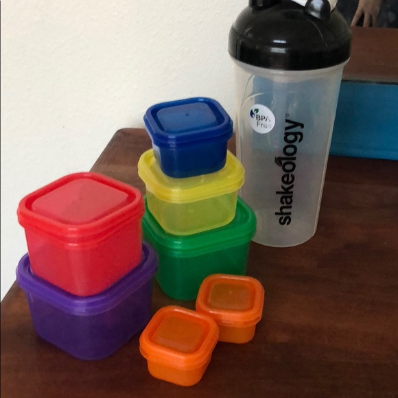 21 Day Fix Container Set Shakeology Cup Poshmark